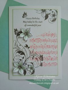 Butterfly and Flowers Large Corner stamp by Honey Doo Crafts  #honeydoocrafts #butterflyandflowerslargecorner #butterfly #flowers #dtsample #distressinks #distressoxides #stamping #stamp #cardmaking #card #creative #craft #ilovetocraft #creativity