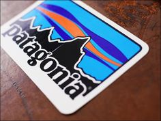 Patagonia PATAGONIA LOGO STICKERS パタゴニアロゴ stickers (prices are for one minute. ) MEN ' S/LADY's response