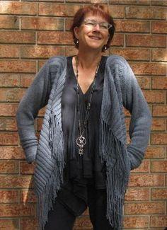 Cozy Cable Knit Cardigan | AllFreeKnitting.com