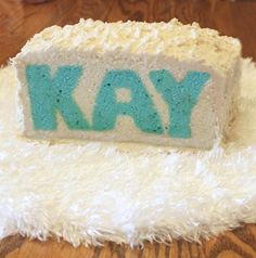 How To Make A Name Cake: Very cool!
