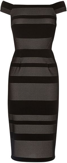 Womens black dress from Warehouse - £55 at ClothingByColour.com