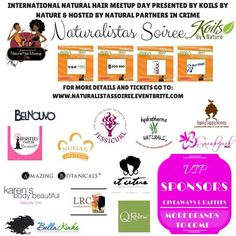 All the amazing sponsors that are a part of this event!  INHMD top sponsors @Koils by Nature and supporting sponsor @edenbodyworks and more  We will keep you updated as sponsors come on board www.naturalistassoiree.eventbrite.com