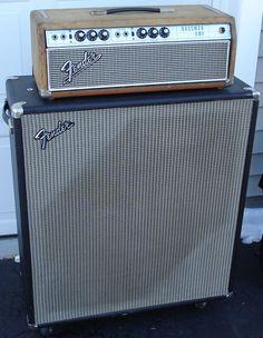 1972 Fender Bassman 50 2X15 Cabinet