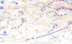 Can You Read a Weather Map?: High and Low Air Pressure Centers
