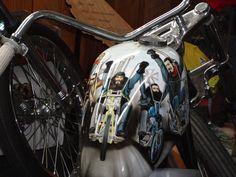 David Mann art on Love Cycles chop