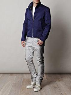 BALENCIAGA  Sprayed jeans
