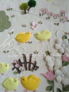 Polar bebek battaniyesi detay  Baharca tasarım  handmade