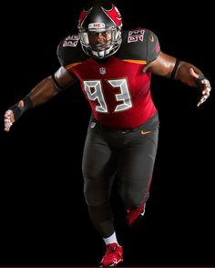 "The Tampa Bay Buccaneers of the NFL® recently introduced new uniforms for next season. The new design features a brighter red than the old jerseys, as well as a richer pewter, the return of ""Bay Orange"" (the creamsicle color of the Bucs' original uniforms), and chrome."
