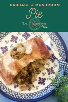 We love the flavor combination in Kulebiak z Kapusta i Grzybami (Cabbage & Mushroom Pie), and I think you will too. Polish Recipes, Polish Food, Love Food, A Food, Sauteed Cabbage, Great Recipes, Favorite Recipes, Mushroom Pie, How To Cook Mushrooms