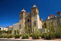 Low angle view ofSanto Domingo De Guzman Church, Oaxaca, Oaxaca State, Mexico