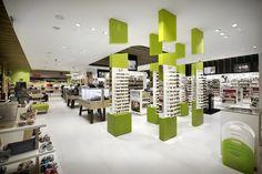 Fund Grube perfumery shop by Mostaza Design, Las Palmas   Canary Islands, Spain eyewear store design cosmetics accessories