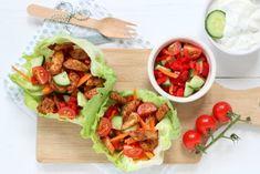 ceto almo o fast food Tzatziki, A Food, Good Food, Keto, Bruschetta, Summer Recipes, Cobb Salad, Casserole, Salads