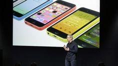 """Apple presenta iPhones 5S y 5C """"económico"""""""
