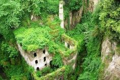 Valle dei Mulini - (Valley of the Mills), Sorrento, Italy
