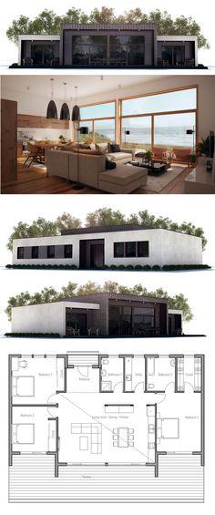 Tanques prefabricados en hormigón que recogen el agua de lluvia - Plan Maison Sweet Home 3d
