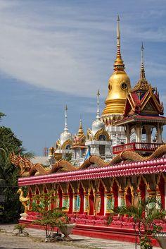 Wat Phranang Sang, Thalang, Phuket Thailand by HellonEarth2006