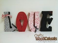 Home & Family Wood Crafts | Crafty Wood Cutouts