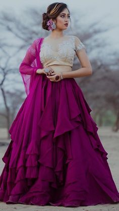 May 2020 - What you need to know to get started. Outfit by Annu's Creation Indian Wedding Gowns, Desi Wedding Dresses, Indian Wedding Fashion, Indian Gowns Dresses, Indian Fashion, Sarara Dress, Lehnga Dress, Indian Designer Outfits, Indian Outfits