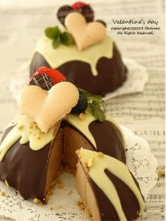 「【バレンタイン】お椀で作るドームケーキ」はつみ | お菓子・パンのレシピや作り方【corecle*コレクル】