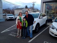 The whole Chriscola family came in to pick up their new loaded 2016 Sorento! We're happy that you brought the whole family! It's a fun time for everyone. Congratulations from John, Dave and all of your new friends at Gary Rome Kia! Welcome to the family. We look for ward to seeing you when you're in for your 2 years of oil changes.  Www.GaryRomeKia.com or call us at (860) 253-4753