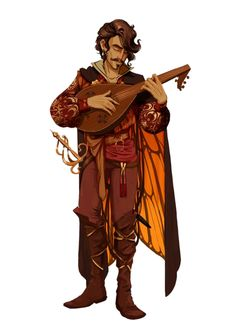 Image result for fantasy rpg character bard