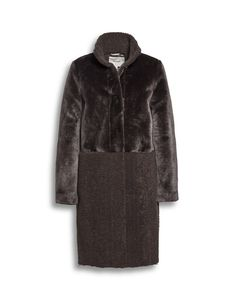 #Beaumont_Amsterdam AW2019 Faux Fur Teddy Front coat . On special offer.