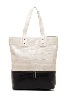 BCBGeneration Two-Tone Tote Bag by Have To Have IT