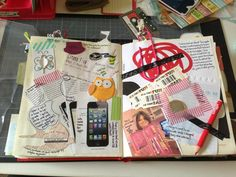 Lots of stuff on the pages