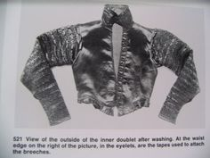 """Abegg Foundation: """"Textile Conservation and Research"""": 'Doublet of Count Friedrich von Stubenberg' Doublet, 16th Century, Conservation, Counting, Textiles, Conservation Movement, Cloths, Fabrics, Canning"""