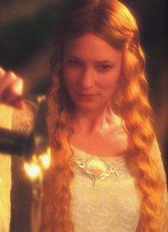 "Galadriel. ""Even the wisest cannot tell, for the Mirror shows many things: Things that Were...Things that Are...And some Things that have not yet com to Pass."""