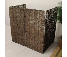 Windy Willows Wheelie Bin Screen Double by Garden Selections, the perfect gift for Explore more unique gifts in our curated marketplace. Bin Shed, Bamboo Screening, Bin Store, Bamboo Panels, Kerb Appeal, Smart Garden, Minimal Home, Plastic Bins, Storage Bins