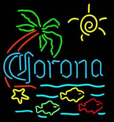 Corona beer sign