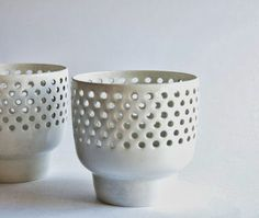 Retro Pottery Net: Arabia Finland - Candle Holders