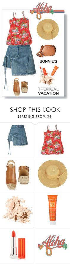 """BTO"" by bonnie-wright-1 ❤ liked on Polyvore featuring Sandy Liang, rag & bone, Bobbi Brown Cosmetics, Hampton Sun, Maybelline and Kate Spade"