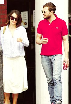 j-amiedornan: April 17th – Jamie Dornan and Amelia Warner in… | Jamie Dornan News