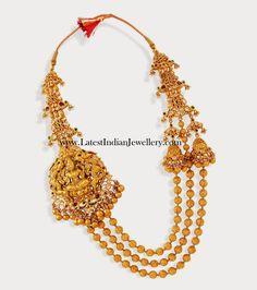Designer Gold Gundla Mala Haram