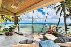 Come see a glimpse of paradise and take a look at the Banyan House Hawaii's photo gallery. Well known as one of the most popular Honolulu, Hawaii homes. Beachfront Rentals, Vacation Rentals, Vacations, Hawaii Homes, Modern Tropical, Outdoor Living, Outdoor Decor, Beautiful Space, Porch Swing