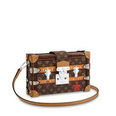 Petite Malle Leather Handbags f17e663333409