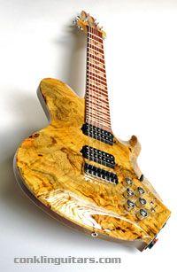 My dream come true... ♥.♥    Short scale 25.5 guitar, 7 strings, piezo pickup, MIDI system, 2 humbucker and 3 band EQ!