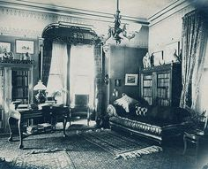 """Victorian parlor 1890's"""