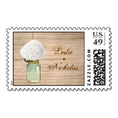==>>Big Save on          Country Rustic Mason Jar Hydrangea Wedding Stamps           Country Rustic Mason Jar Hydrangea Wedding Stamps We have the best promotion for you and if you are interested in the related item or need more information reviews from the x customer who are own of them befor...Cleck Hot Deals >>> http://www.zazzle.com/country_rustic_mason_jar_hydrangea_wedding_stamps-172854454990147014?rf=238627982471231924&zbar=1&tc=terrest