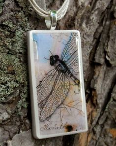 Soaring Dragonfly pendant by curlygirldesigns on Etsy