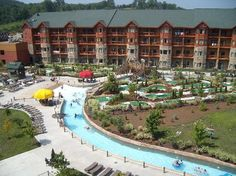 Wilderness at the Smokies Resort 3 miles outside of Sevierville