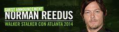 Walker Stalker Con | Atlanta 2014 Sooo excited