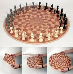 3 person chess .. I can't even get more then 1 friend to show up at my house but what the heck?! why not?