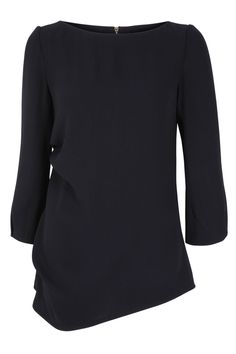 Le Marais Long Sleeve Tunic Midnight Blue