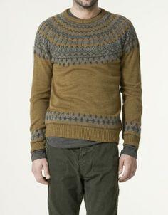 JERSEY JACQUARD - Knitwear - Collection - Man - Zara ($20-50) - Svpply