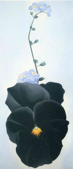 G.O'Keeffe Pansy 1926