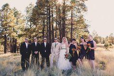 Rustic Texas secret wedding by Mike Olbinski Photography // www.onefabday.com