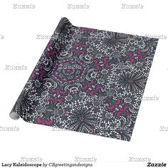 Lacy Kaleidoscope Wrapping Paper